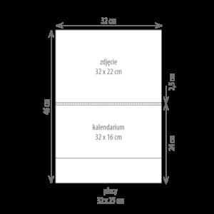 kalendarz jednodzielny MINI