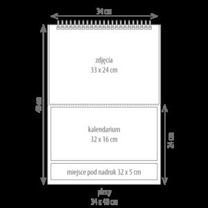 kalendarz wieloplanszowy TANI