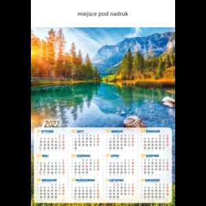 kalendarz plakatowy ZACHÓD SŁOŃCA   B78