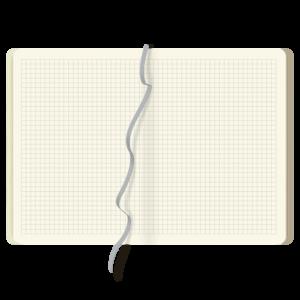 blok notesowy A5 KREMOWY W KRATKĘ | BLN130