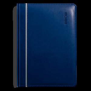 kalendarz książkowy A5 dzienny GRANAT I SREBRO | KK04