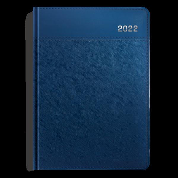 kalendarz książkowy A5 dzienny METALIZOWANY GRANAT | KK06
