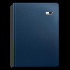 kalendarz książkowy A5 dzienny MATOWY ATRAMENTOWY | KK07