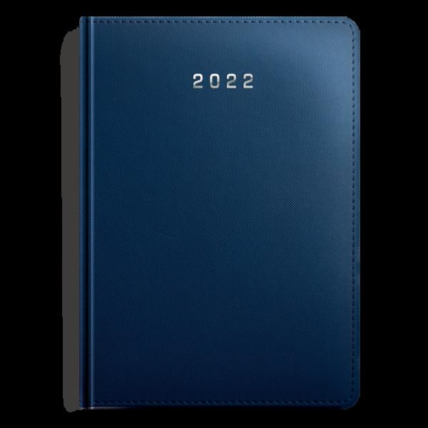 kalendarz książkowy A5 dzienny MATOWY GRANAT   KK08
