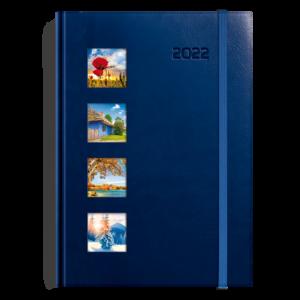 kalendarz książkowy A5 dzienny CZTERY PORY ROKU | KK25