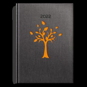 kalendarz książkowy A5 dzienny DRZEWKO POMARAŃCZ | KK31
