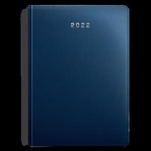 kalendarz książkowy B5 dzienny MATOWY GRANAT | KK37