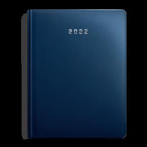 kalendarz książkowy B5 tygodniowy MATOWY GRANAT | KK42