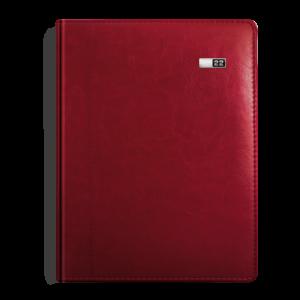 kalendarz książkowy B5 tygodniowy BURGUND | KK43