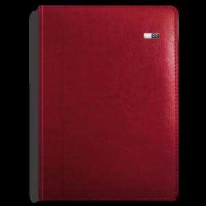 kalendarz książkowy A4 dzienny BURGUND | KK48