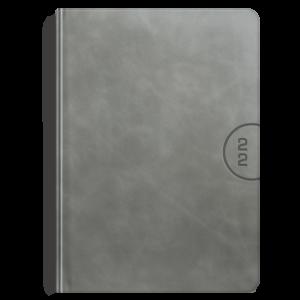 kalendarz książkowy A4 dzienny AKSAMITNY POPIEL | KK50