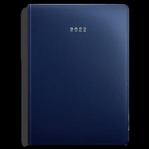 kalendarz książkowy A4 tygodniowy MATOWY GRANAT | KK52