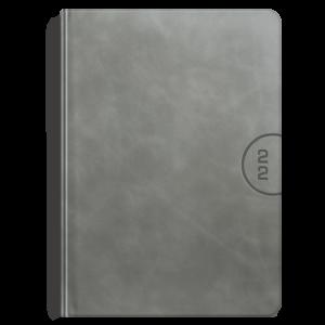kalendarz książkowy A4 tygodniowy AKSAMITNY POPIEL | KK55