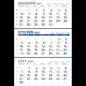 kalendarium TRÓJDZIELNE NIEBIESKIE | KTC143