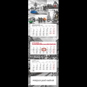 kalendarz panoramiczny PIĄTY ELEMENT | PAN108