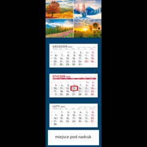 kalendarz trójdzielny klasyczny 4 PORY | T103