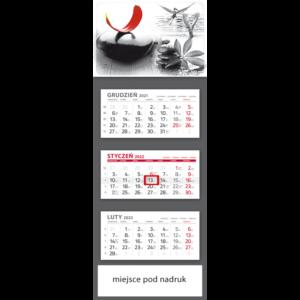 kalendarz trójdzielny klasyczny ZEN | T92