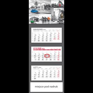kalendarz trójdzielny klasyczny 5 ELEMENT | T98