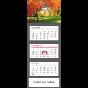 kalendarz trójdzielny klasyczny DRZEWO | T99