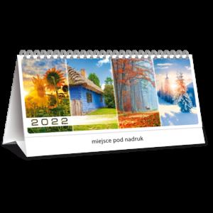 kalendarz biurkowy tygodniowy CZTERY PORY ROKU | TB124