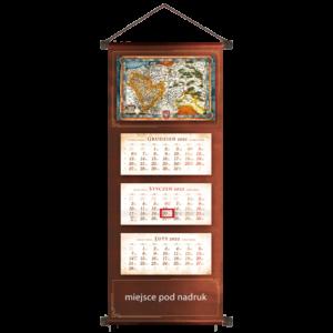 kalendarz trójdzielny VIP STARA MAPA | VIP70