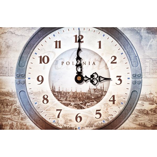 kalendarz trójdzielny VIP RETRO – ZEGAR   VIP71