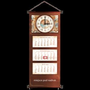 kalendarz trójdzielny VIP STARY ZEGAR – ZEGAR | VIP73
