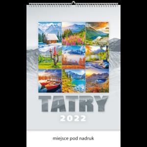 kalendarz wieloplanszowy TATRY | W119