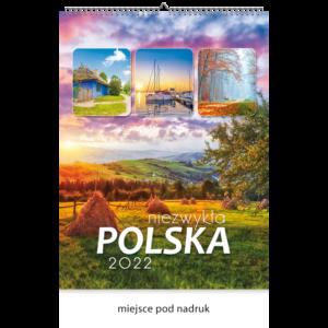 kalendarz wieloplanszowy NIEZWYKŁA POLSKA | W120